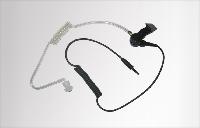 Sluchátko ES-02 s transparentním zvukovodem