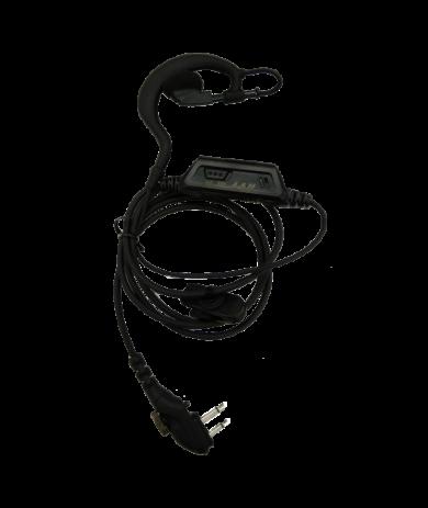 Hovorová souprava typu C s funkcí VOX ; EHM18-A pro vysílačky Hytera