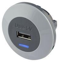 Elegantní USB zásuvka do auta a autobusu Alfatronix